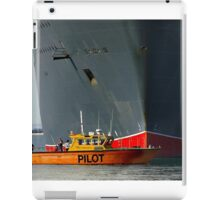 The Queen and the Pilot iPad Case/Skin