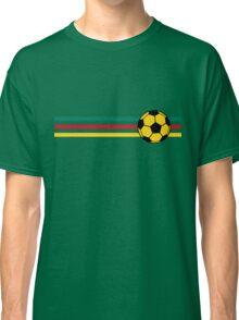 Football Stripes Cameroon Classic T-Shirt