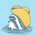 Funny Hat Shark by nickv47