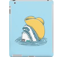 Funny Hat Shark iPad Case/Skin
