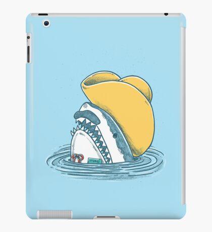 Funny Hat Shark iPad Case/Skin