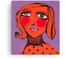 Twiggy Tangerine Canvas Print