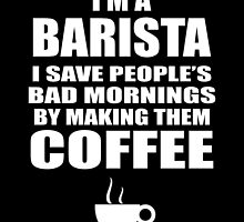I'M A BARISTA I SAVED PEOPLE'S BAD MORNINGS BY MAKING THEM COFFEE by flamingarts