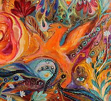 Original painting fragment 99 by Elena Kotliarker