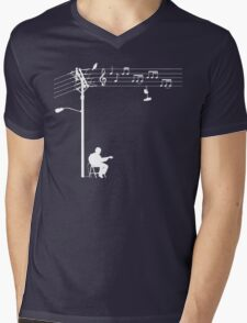 Wired Sound - White Mens V-Neck T-Shirt