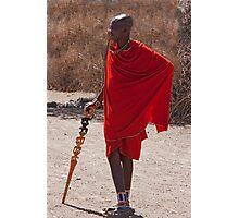 Casual Kenyan Photographic Print