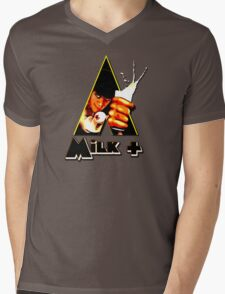 Milk+ Mens V-Neck T-Shirt