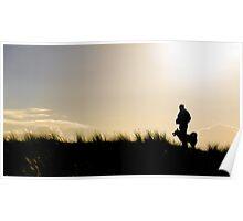 Sunset Strolls Poster