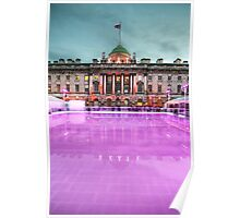 Skating at Somerset House Poster
