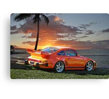 2013 Porsche 911 GT Canvas Print