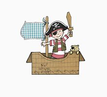 Cardboard Kid Pirate (Little Stars Collection) Unisex T-Shirt