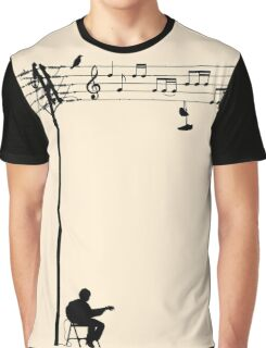 Wired Sound Graphic T-Shirt