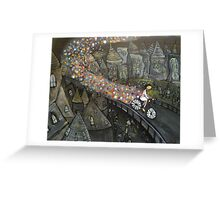 Sparkle Bike Greeting Card