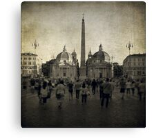 Piazza del Popolo Canvas Print