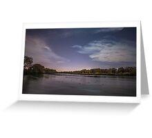 River Dreaming Greeting Card