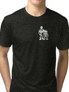 Undertale Skeleton Brothers Tri-blend T-Shirt