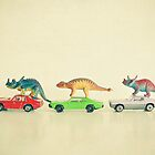 Dinosaurs Ride Cars by Cassia