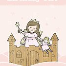 Cardboard Kid Castle (Little Stars Collection) by MissIllustrator
