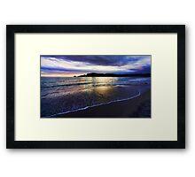 Adventure Bay Beach, Bruny Island, Tasmania, Australia Framed Print
