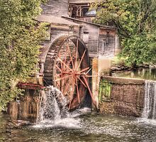 The Old mill In the Forge by LarryB007