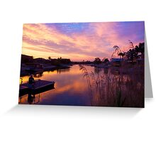 Tweed Reflections Greeting Card
