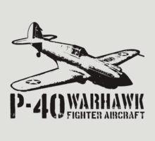 P-40 Warhawk by deathdagger