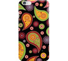 Dark Paisley iPhone Case/Skin