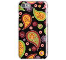 Dark Paisley iPhone Case/Skin