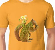 Daisy Squirrel Unisex T-Shirt
