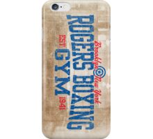 Rogers Boxing Gym iPhone Case/Skin