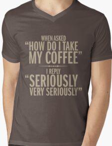 How do I take my coffee Mens V-Neck T-Shirt