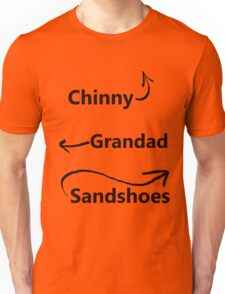 """My associates, Grandad and Sandshoes"" Unisex T-Shirt"