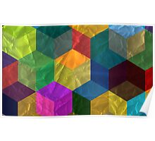 Cubic Pattern Poster
