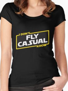 Flying Advice Women's Fitted Scoop T-Shirt