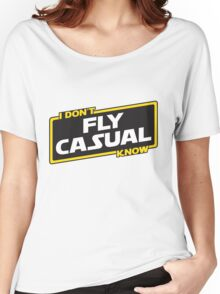 Flying Advice Women's Relaxed Fit T-Shirt