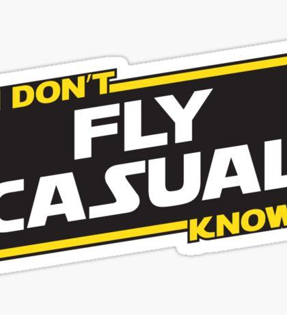 Flying Advice Sticker