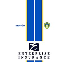 Leeds United Home Kit 2013/14 Phone Case by James Frewin