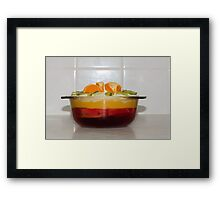 Trifle Framed Print
