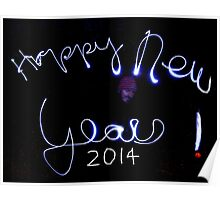 Happy New Year 2014 !!!!!!!!!!!!!!!!!!! Poster