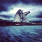Scottish Kelpies by Gillian Blair