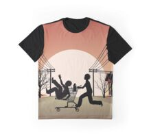 Sunset Suburban Graphic T-Shirt