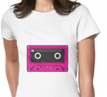 Retro compact cassette Tee Womens Fitted T-Shirt