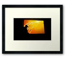 How Kittens See Framed Print