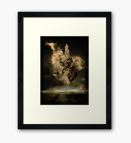 A Castle In The Sky Framed Print