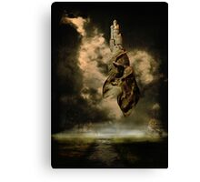 A Castle In The Sky Canvas Print