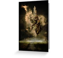 A Castle In The Sky Greeting Card