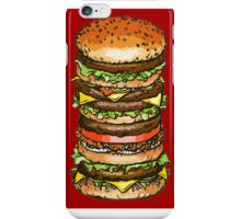tall burger iphone case iPhone Case/Skin