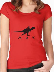 Ark dino Survival evolved Women's Fitted Scoop T-Shirt