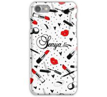 Sonya Makeup Case iPhone Case/Skin