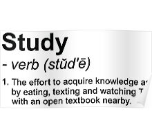 Study Definition Poster
